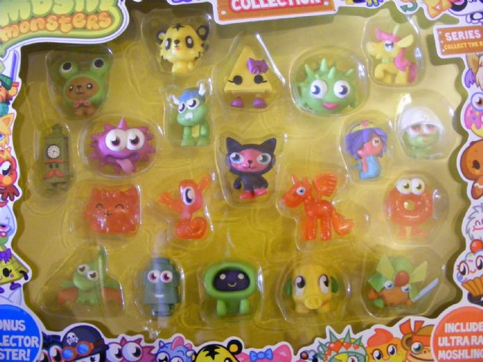 BN MOSHI MONSTERS ULTIMATE FIGURES COLLECTION SERIES 1 INC ULTRA RARE MOSHLINGS